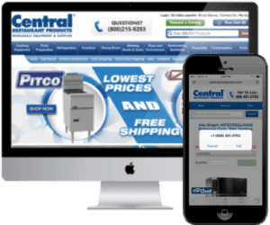 Central Restaurant Products uses conversation analytics technology.
