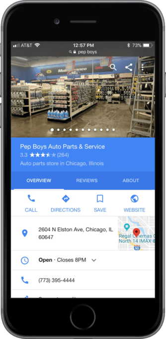 Customers often call or visit a business after a local voice search — therefore, make sure your Google My Business listing is up-to-date