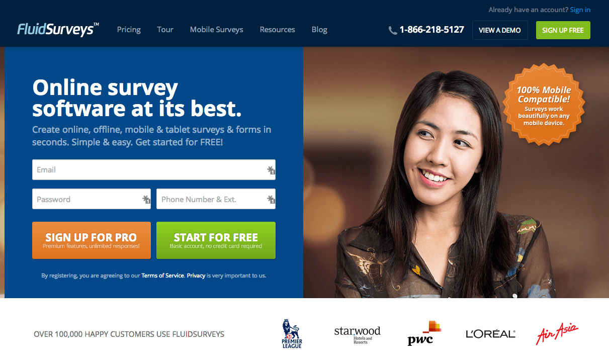 Landing page visitors follow the gaze of human faces